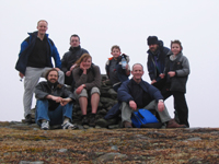 Barton Group at Summit of Glen Clova
